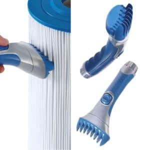 brosse nettoyage cartouche spa